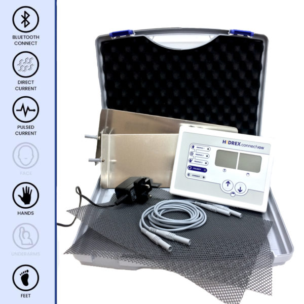 Iontocentre.com Hidrex ConnectION Hands & Feet Iontophoresis machine