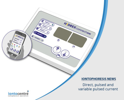 Direct, pulsed and variable pulsed current iontophoresis machines